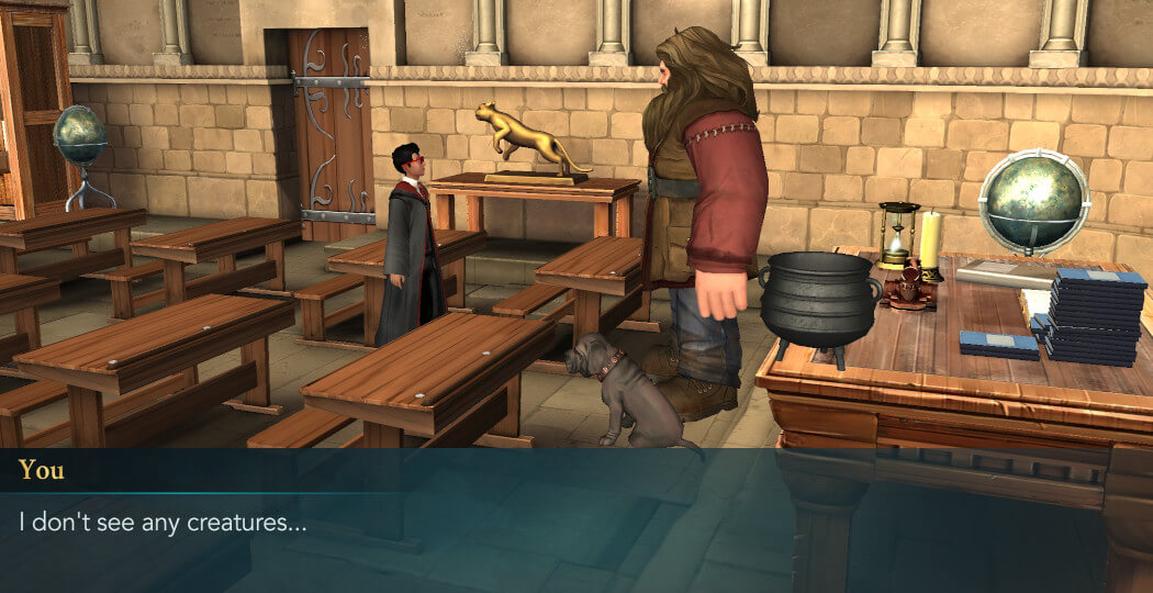 Harry Potter Hogwarts Mystery Walkthrough Magical Creatures Everywhere Adventure Part 1