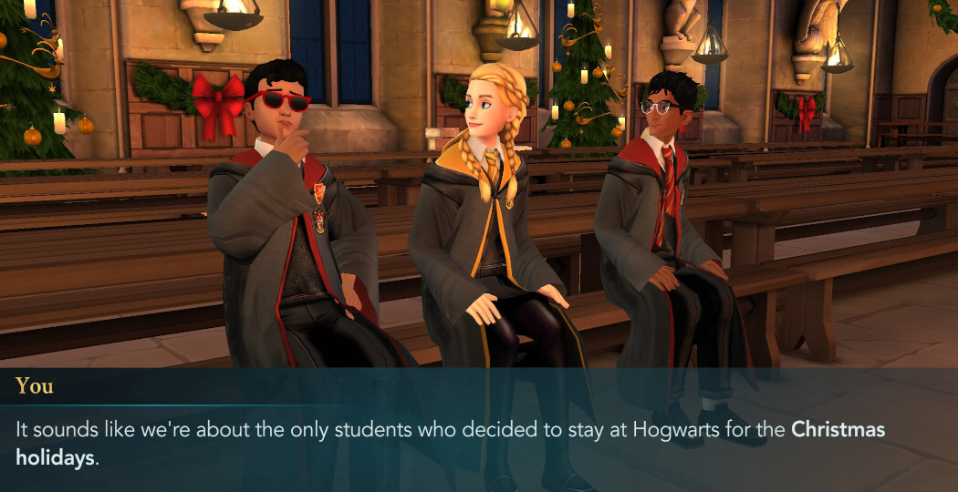 Harry Potter Hogwarts Mystery Walkthrough The Christmas Holidays Adventure Part 1