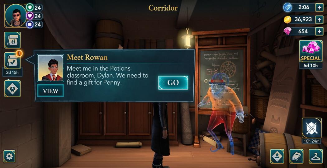 Harry Potter Hogwarts Mystery Walkthrough The Christmas Holidays Adventure Part 3