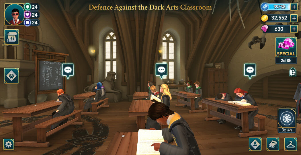 Harry Potter Hogwarts Mystery Walkthrough Year 5 Chapter 12