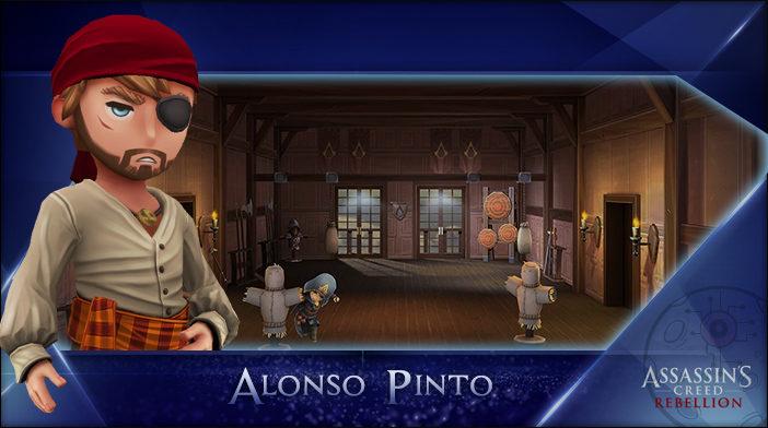 Alonso - Assassin's Creed Rebellion Hero