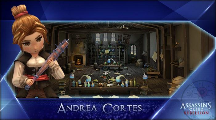 Andrea - Assassin's Creed Rebellion Hero