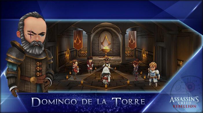 Domingo - Assassin's Creed Rebellion Hero