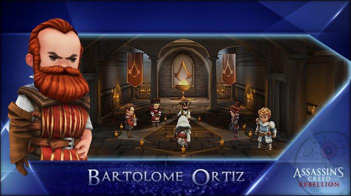 Bartolome - Assassin's Creed Rebellion Hero