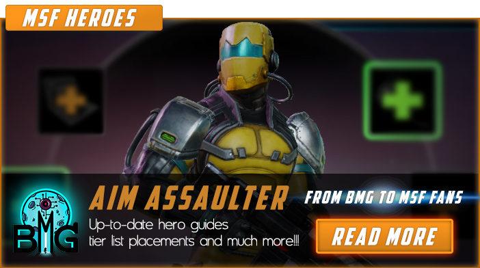 marvel strike force aim assaulter