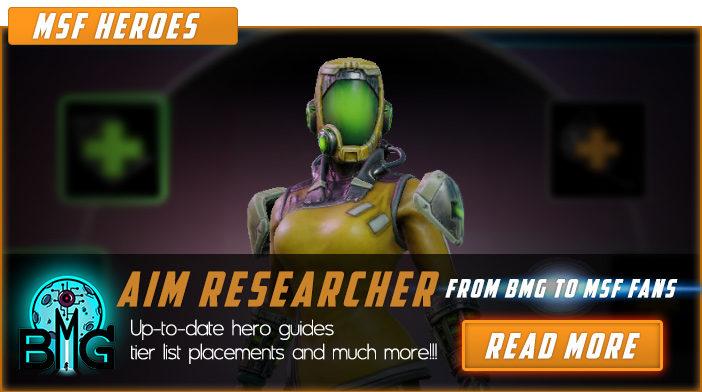 A.I.M. RESEARCHER - Marvel Strike Force Minions