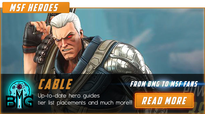 marvel strike force cable