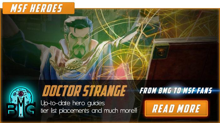 marvel strike force doctor strange