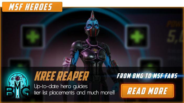 kree reaper marvel strike force