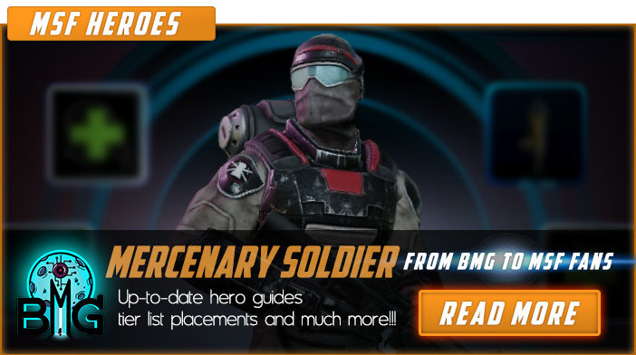 mercenary soldier marvel strike force