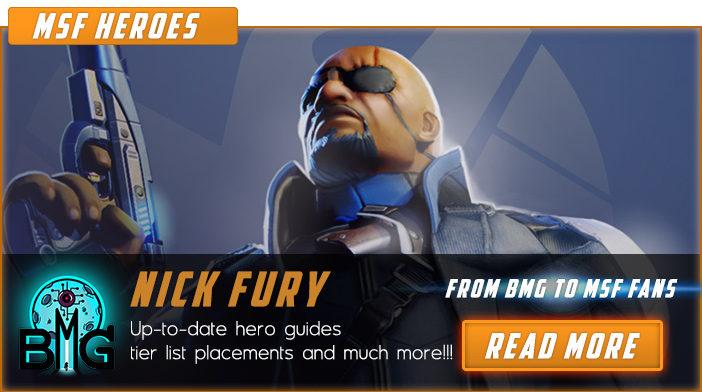 marvel strike force nick fury
