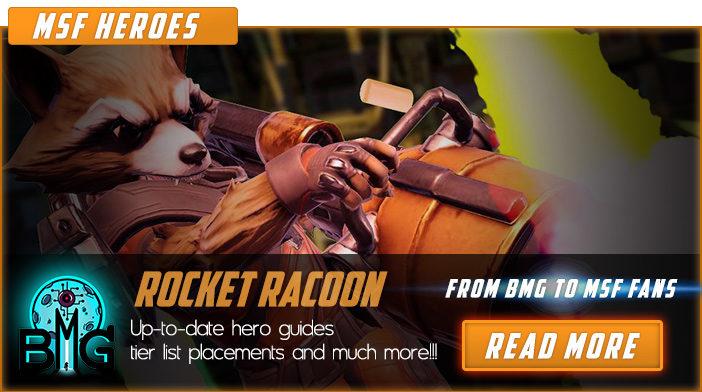 marvel strike force rocket raccoon