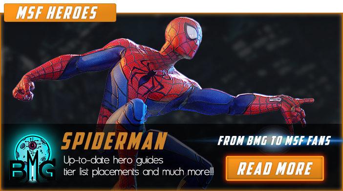 marvel strike force spiderman
