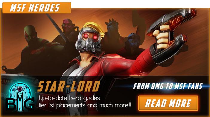Marvel Strike Force Legendary Events