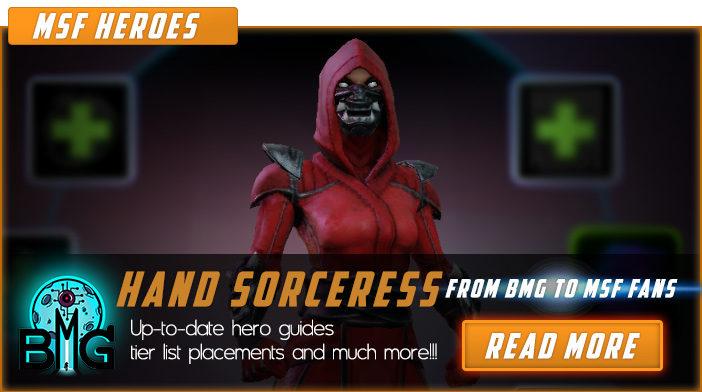 marvel strike force hand sorceress