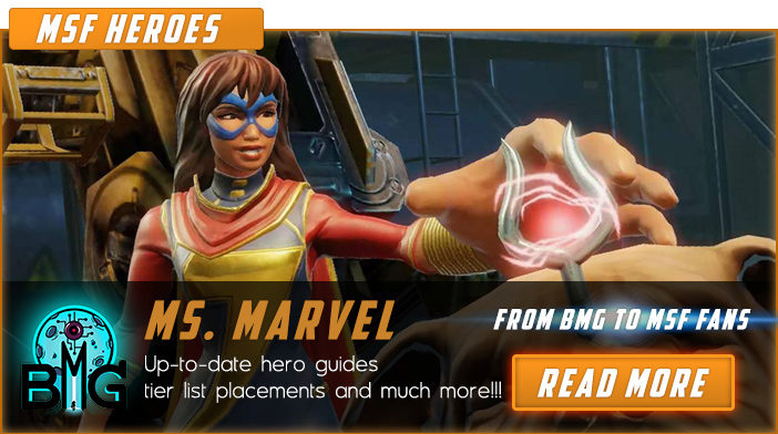 Ms.Marvel - Marvel Strike Force Heroes