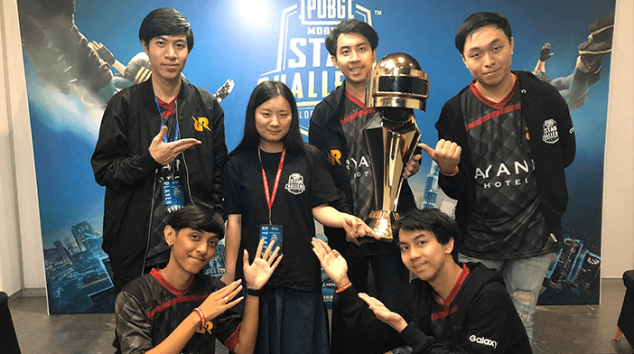 RRQ Athena won the PUBG Mobile Star Challenge