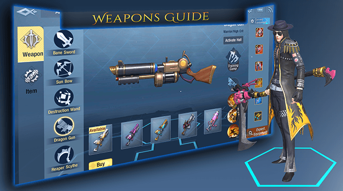 Weapons - Survival Heroes