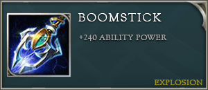 Arena of valor items boomstick