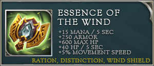 Arena of valor items essence of the wind