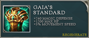Arena of valor item gaias standard