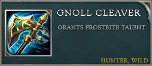 Arena of valor item gnoll cleaver
