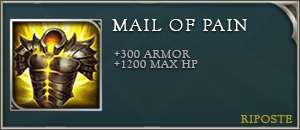 Arena of valor items mail of pain