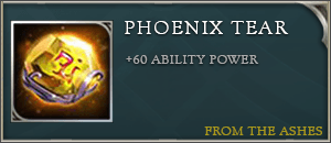 Arena of valor items phoenix tear