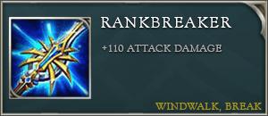 Arena of valor items rankbreaker