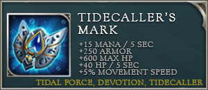 Arena of valor items tidecallers mark