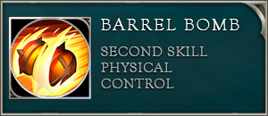Arena of valor wisp skill barrel bomb
