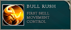 Arena of valor toro skill bull rush