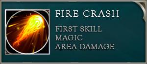Arena of valor ignis skill fire crash