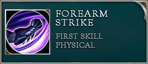 Arena of valor batman skills forearm strike
