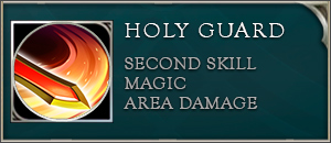 Arena of valor arthur skill holy guard