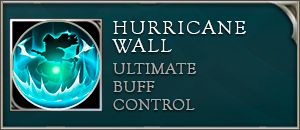Arena of valor Annette skill hurricane wall