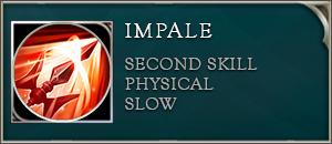 Arena of valor lu bu skill impale