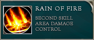 Arena of valor ignis skill rain of fire