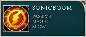 Arena of valor Flash skill sonicboom