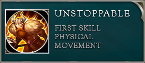 Arena of valor ormarr skill unstoppable