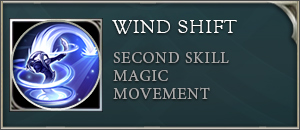 Arena of valor zill skill wind shift