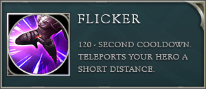 Arena of valor talents flicker