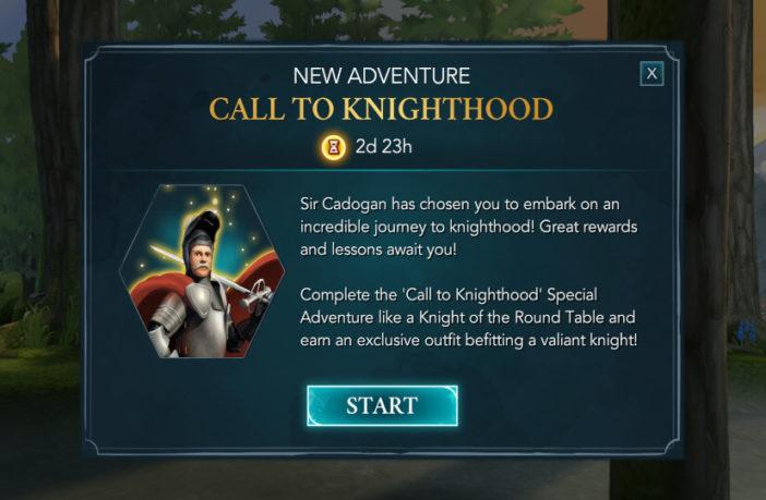 Harry Potter Hogwarts Mystery Walkthrough Call to Knighthood Adventure Part 1