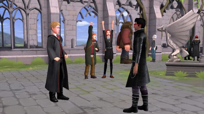Harry Potter Hogwarts Mystery Walkthrough Call to Knighthood Adventure Part 3