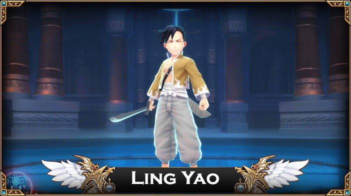 Ling Yao - Knights Chronicle Hero