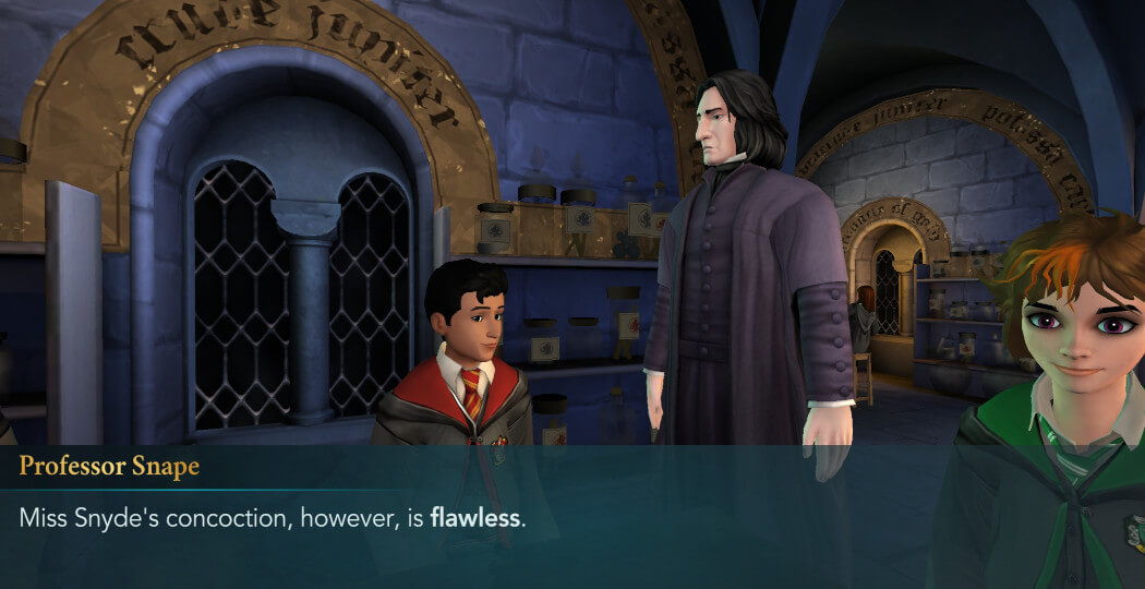 Harry Potter Hogwarts Mystery FanFiction Year 1 Part 6