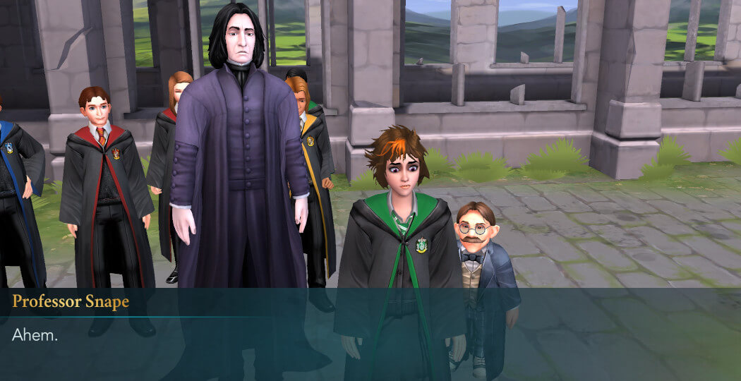 Harry Potter Hogwarts Mystery FanFiction Year 1 Part 7