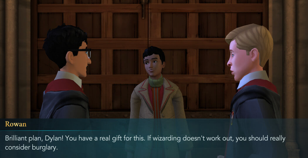 Fan Fiction Part 8 - Harry Potter Hogwarts Mystery
