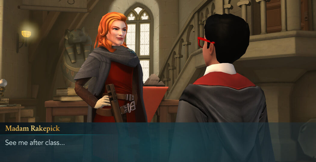Harry Potter Hogwarts Mystery Walkthrough Year 5 Chapter 14