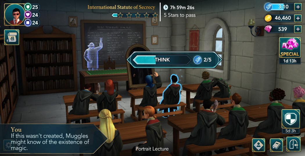 Harry Potter Hogwarts Mystery Walkthrough Year 5 Chapter 15